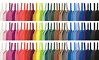 WIDE COLOURED SHOE LACES SHOELACES - 30 COLOURS - 20mm WIDE - 110cm LONG