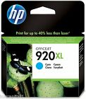 HP No 920XL Cyan Original OEM Inkjet Cartridge CD972AE Officejet