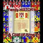 Armorial Name History - Coat of Arms - Family Crest 11x17 STOVER-TO-TRUITT