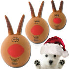 Armitage Festive Lob It Reindeer Lobber Squeaky Dog Puppy Christmas Xmas Toy