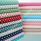 RICHMOND DOT - 3mm SPOT POLKA 100% COTTON FABRIC per m  ALL COLOURS