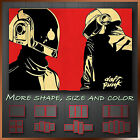 ' Daft Punk ' DJ Music Band Canvas Art Printing Reay To Hang More Size & Color