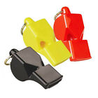 CLASSIC WHISTLE BLACK YELLOW RED LIFEGUARD REFEREE FOOTBALL COACH £3.40 EACH
