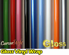 【GLOSS】Vehicle Wrap Vinyl Sticker 2m(78.7in)x0.75m(29.5in) Air/bubble Free