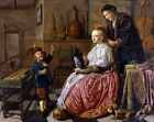 Allegory Vanity Jan Miense Molenaer 1633 Art Photo /Poster Repro Print Many Size