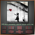 ' Banksy Balloon Girl '  Graffiti Funky Art Canvas Box More Color & Style & Size