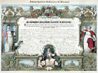 History Decor Poster.Fine Graphic Home Art Design. Emancipation Ordinance. 2757