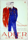 Adler Geneve fashion Decorative Poster.Fine Graphic Home Art Design. 2831