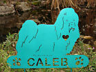 Maltese Garden Plaque PET MEMORIAL Yard Stake Personalized Dog Canine