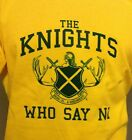 MONTY PYTHON, THE KNIGHTS WHO SAY NI! Holy Grail., sword & shield style T-Shirt