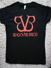 BLACK VEIL BRIDES BASIC LOGO LADIES FITTED T-SHIRT