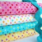 CARNIVAL HEARTS -  100% COTTON FABRIC per metre HEART KIDS PATCHWORK