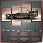 ' Back To The Future ' Movie Film Framed Canvas Wall Art Deco ~ 4pc More Size
