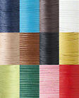 Bulk 100 Meter Spool Wax Coated Cotton Beading Cord String Cording for Beads