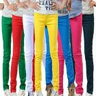 Women Skinny Jeans Slim Jeggings Stretch Candy Pencil Pants Leggings Trousers