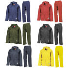 New RESULT Unisex Adults Waterproof Jacket Trouser Suit Set in 6 Colours S - XXL