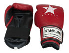 Starlite Red Leather Training-Fighting Boxing-Gloves 10oz 12oz 14oz 16oz