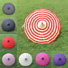 colored umbrellas - 8 Colors Pagoda Parasol Wind-proof /Waterproof Umbrella Wedding Bride Parasol