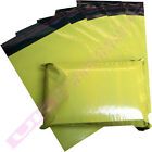 """YELLOW POSTAGE MAILING BAGS 14 X 20"""" MAIL POUCHES SACKS CHEAP OFFER *SELECT QTY*"""