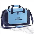 Personalised Travel Holdall Sports Gym Bag Locker Kit - Your Name Team Club