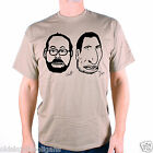 A TRIBUTE TO STEELY DAN T SHIRT - DON & WALT SKETCH AN OLD SKOOL EXCLUSIVE!