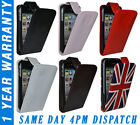 Stylish Leather Flip Case Cover Pouch With LCD Screen Protector For iPhone iPod
