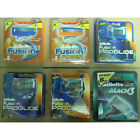 Gillette Blades Razor Refill Cartridges Fusion Proglide Power or Mach3 or Sensor
