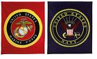 "Military Insignia Fleece Blanket (50"" x 60"") image"