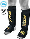 RDX Shin Instep Pads MMA Leg Foot Guards Muay Thai Kick Boxing Guard Protector B