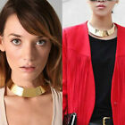 New Fashion Punk  Mental Gold/Silver  Lady Womens Nacklace