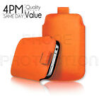 PREMIUM PU LEATHER  PULL TAB SKIN CASE COVER POUCH FOR VARIOUS SAMSUNG MOBILES