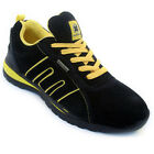 **NEW MEN SAFETY TRAINERS SHOES BOOT WORK STEEL TOE CAP ANKLE SIZE 6-13UK LADIES