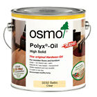 Osmo Polyx Oil Rapid Clear Satin(3232), Clear Matt(3262), White(3240) in 4 sizes