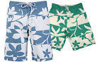 RRP £23.99 New Mens Floral Pattern Beach Surf Board Swimming Swim Shorts Trunk