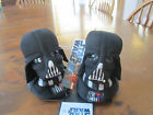 Star Wars Plush DARTH VADER Character Slippers Toddler Youth Boys Sizes NEW CUTE