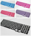 Semi Color Keyboard Skin Protector Sony VAIO 17.3'' E EJ E17 SVE17 Series laptop