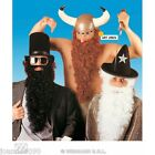 Mens Long Curly Viking Beard And Moustache Tash Fancy Dress Costume Accessory