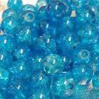 200 x 4mm / 100 x 6mm / 50 x 8mm / Crackle Glass Beads - 38 Various Colours <br/> BUY 4 GET 1 FREE in same invoice. Add any 5 to qualify.
