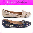 NEW LADIES DOLCIS FLATS CUT OUT BALLET DOLLY BALLERINAS SHOES SIZES UK 3-8