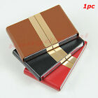 Holder Leather Business ID Credit Name Card Case Box Wallet Purse Organizer