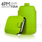Premium PU Leather Pull Tab Pouch Case Cover For Various LG Mobile Phones