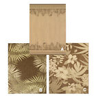 """Tropical Leaves Indoor Outdoor Casual Floral Patio Area Rug : Actual 5' 3""""x7' 6"""""""