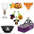 Haunted Halloween Horror Party Tableware Plates Cups Tablecover One Listing PS