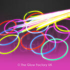 Mixed Colour Glow Necklaces Glow in the Dark Neon Necklace FREE P&P