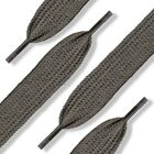 Dark Gray Shoelaces Flat, Fat, Round Style by Shoe String King choose your lace