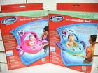 NEW SWIMWAYS INFLATABLE POOL SUN CANOPY BABY BOAT STEP ONE AGES 9-24 MONTHS