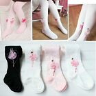 Girls Kid Gymnastic Ballet Dance Pinks 3-10YLeggings  Leotard Footed Socks
