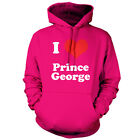 I Love Prince George - Unisex Hoodie - 9 Colours - Royal Baby - Family - Gift