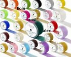 Choice of Colour Wired Chiffon ORGANZA Ribbon 70, 50, 32mm Wide x 20m Long