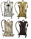 3 Liter Hydration Systems w/ Backstrap Polyester MOLLE Compatible Water Pack